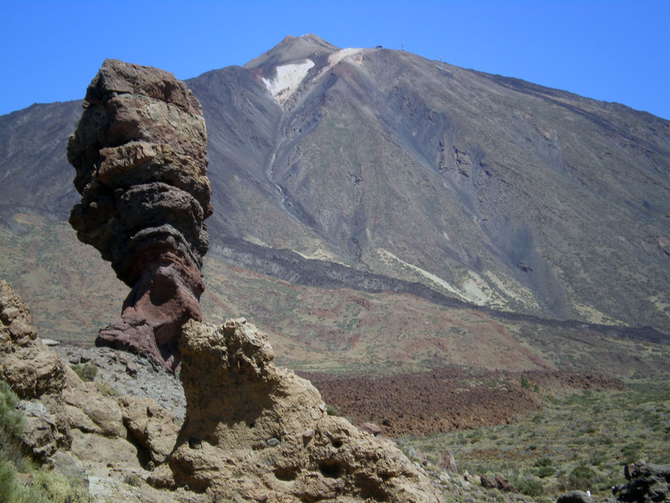 The Most Visited National Park in Europe. Mount Teide, Tenerife, Canary Islan...