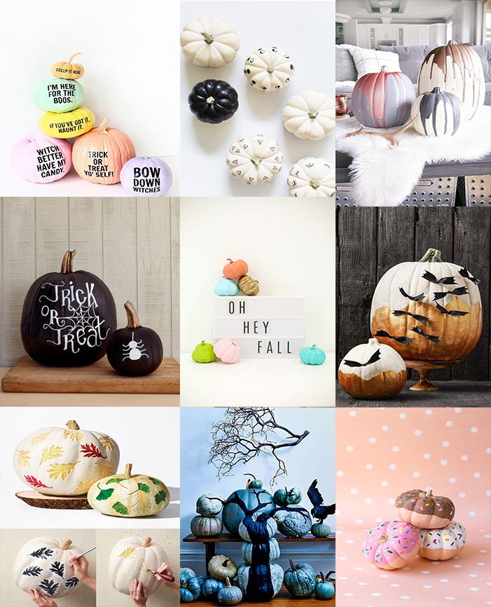 Easy Pretty And Creative Pumpkin Decorating Ideas Moco